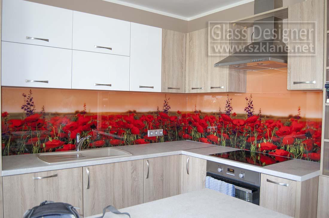 czerwone maki kuchni
