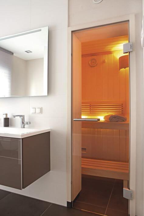 drzwi do sauny
